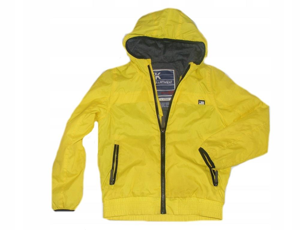 kurtka zara żółta chłopca