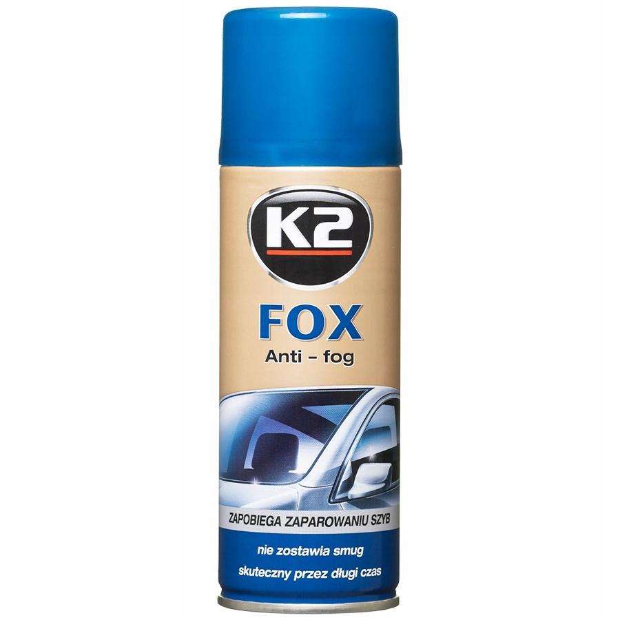 K2 Fox 200ml: Spray zapobiegający parowaniu szyb