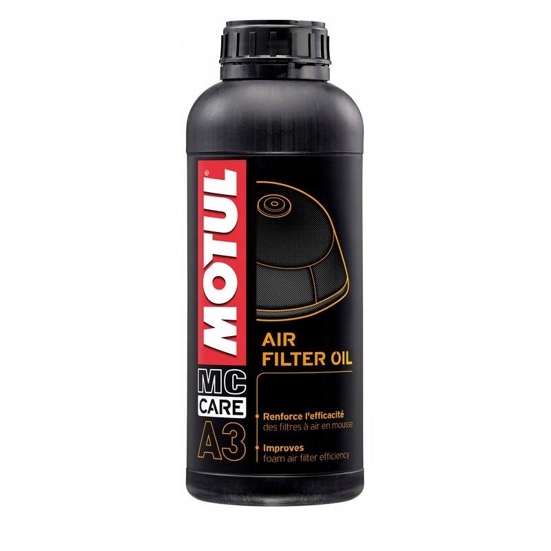MOTUL A3 olej do gąbkowych filtrów powietrza