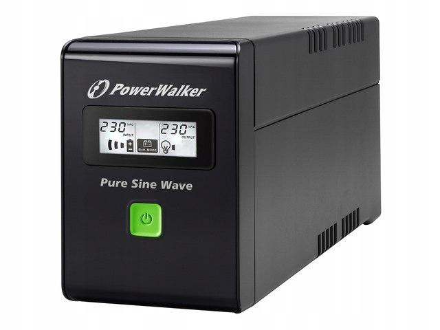 UPS POWERWALKER LINE-INTERACTIVE 800VA 3X IEC 230V