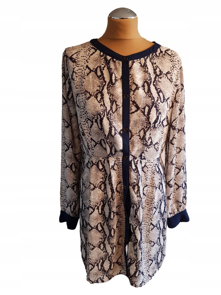 Lucy- sukienka w wężowy wzór 38