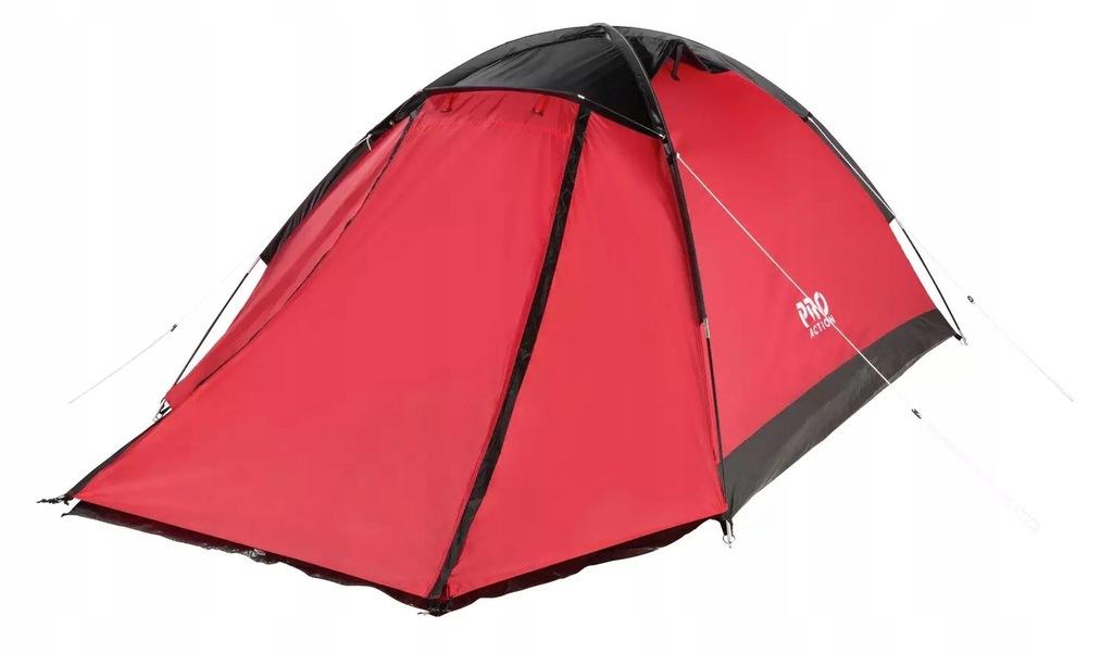 Namiot kempingowy ProAction 4 Man 1 Room Dome K351
