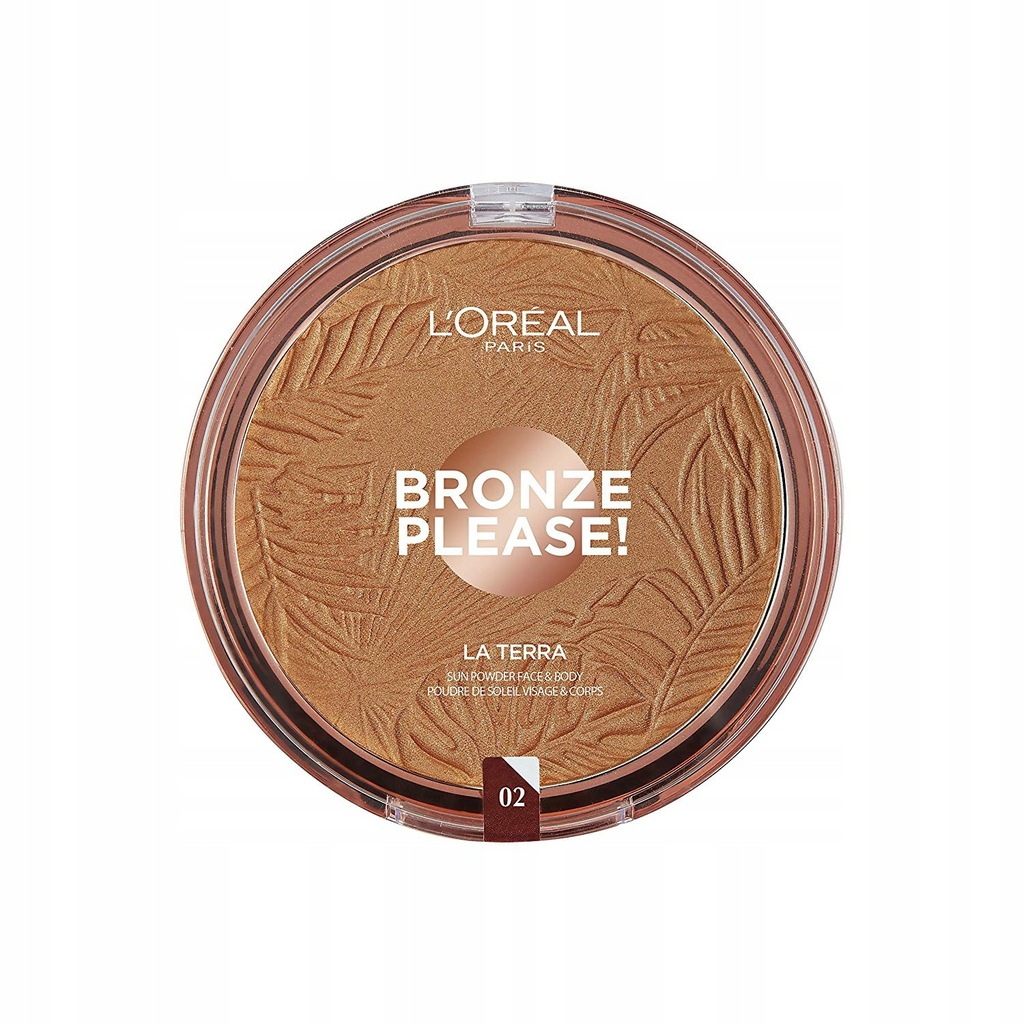 L'Oreal Paris Bronze Please La Terra bronzer 02 Ca