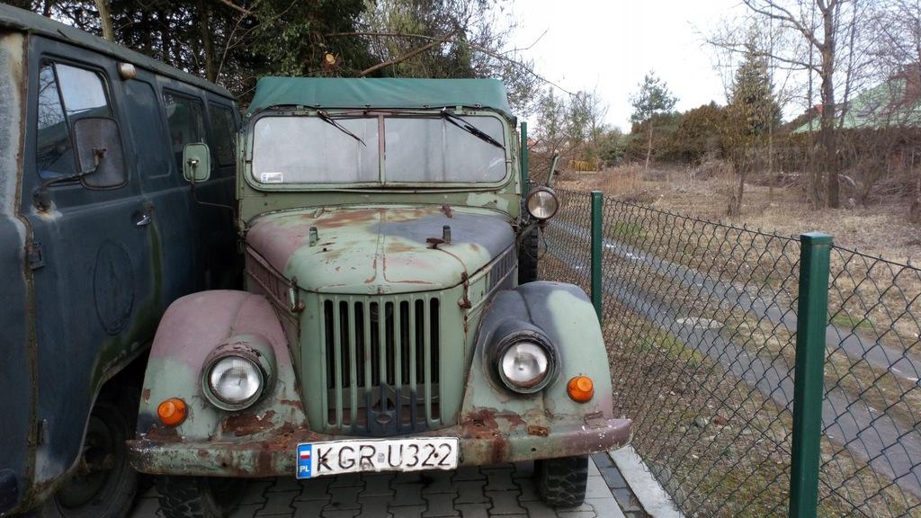 Gaz 69E CIĘŻAROWY ROK 1963