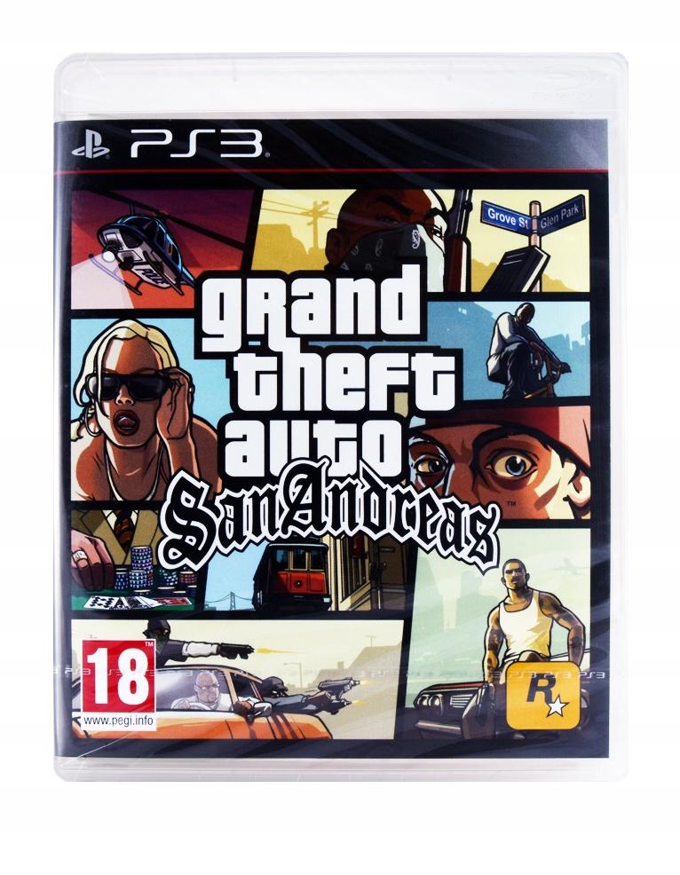 Gta San Andreas Grand Theft Auto Gra Ps3 Nowa 7509804130 Oficjalne Archiwum Allegro