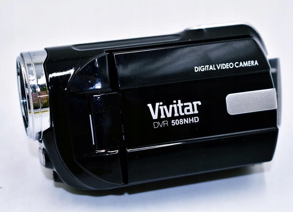 4751-24 ...VIVITAR DVR 508NHD.. a#g KAMERA CYFROWA
