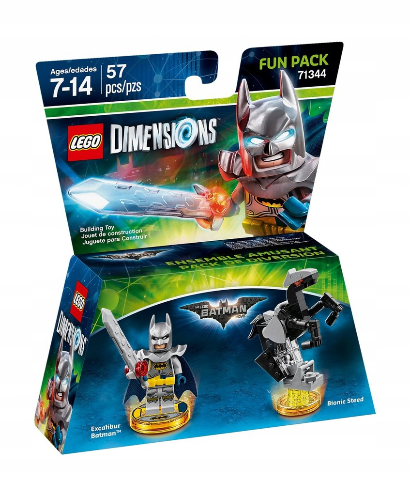 LEGO Dimensions BATMAN Excalibur Fun Pack 71344