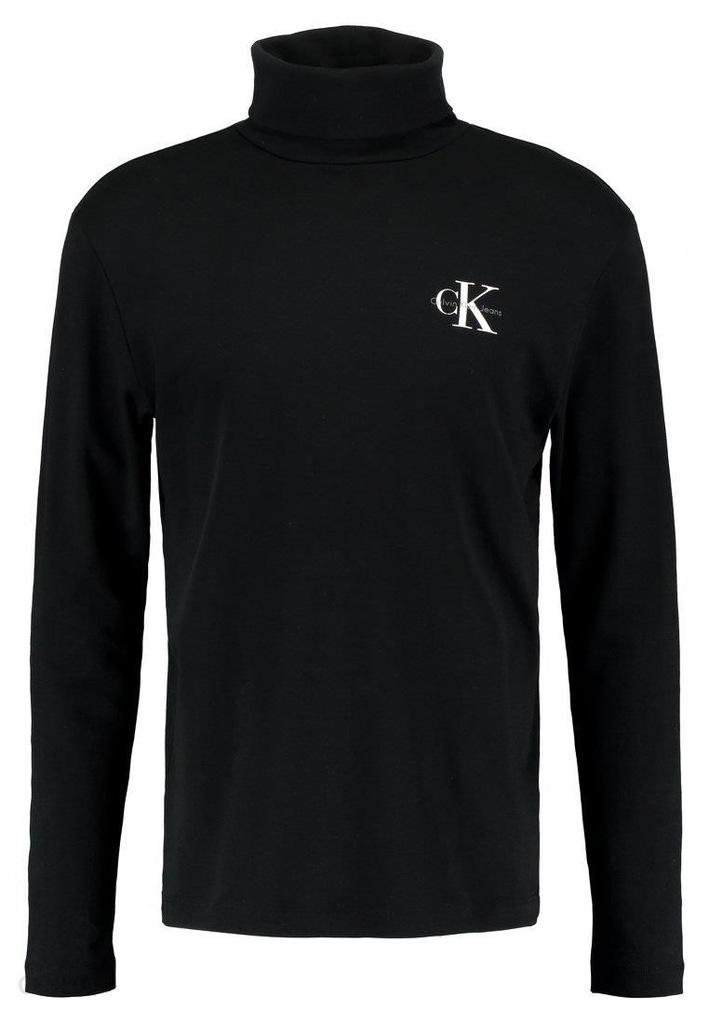 Calvin Klein Monogram Chest Logo TURTLE NECK