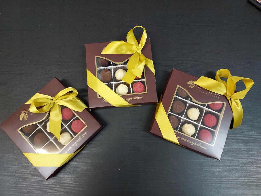 Trufle czekoladowe ręcznie wyrabiane M. Pelczar