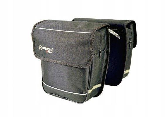 Sakwa Spencer 2 komorowa Double Bag bagażówka 18L