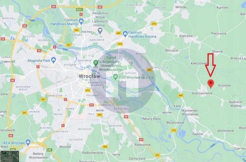 Działka, Dobrzykowice, Czernica (gm.), 661 m²