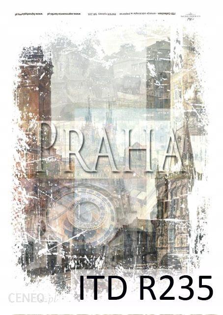 Papier ryżowy PRAHA A4 ITD