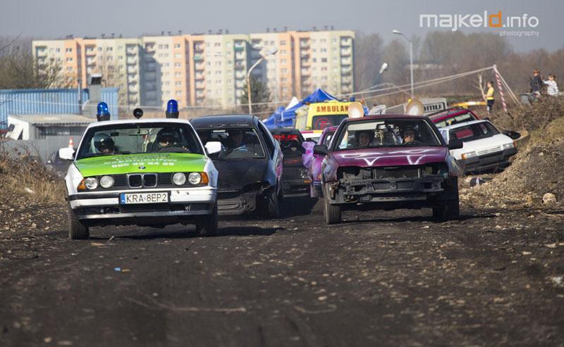 Udział w wyścigu Wrak Race Katowice