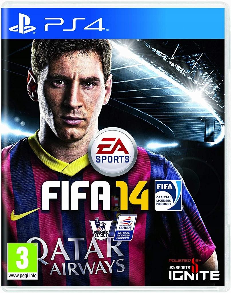 Fifa 14 Ps4 Playstation 4 8570104663 Oficjalne Archiwum Allegro