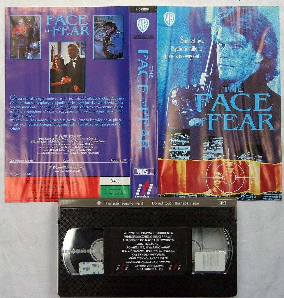 Ściana strachu-VHS Jedyna na Allegro!