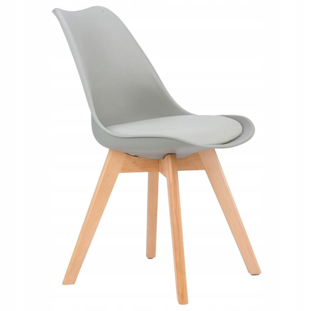 Krzesło zestaw krzeseł do salonu jadalni z poduszk