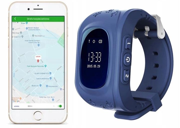 ZEGAREK SMARTWATCH FQ50 LOKALIZATOR GPS DLA DZIECI