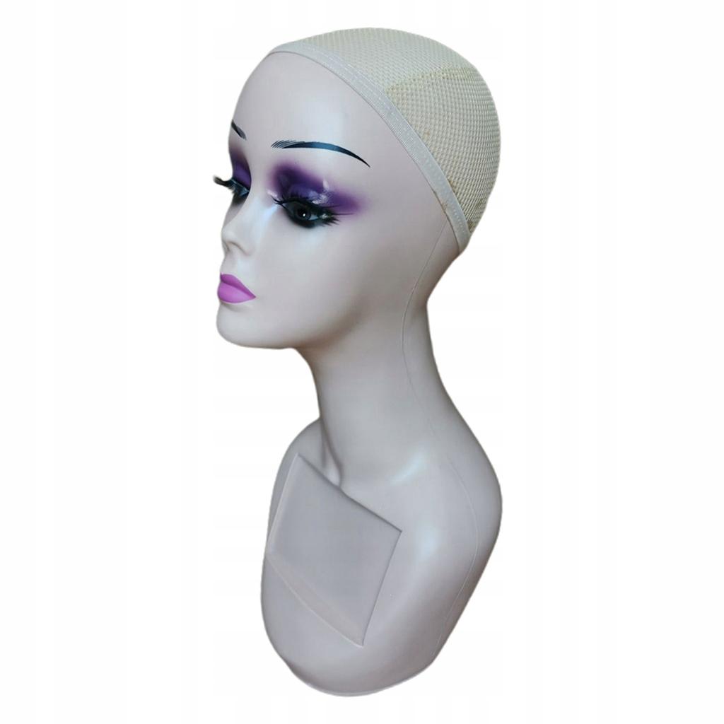 Głowa manekina - Różowe usta