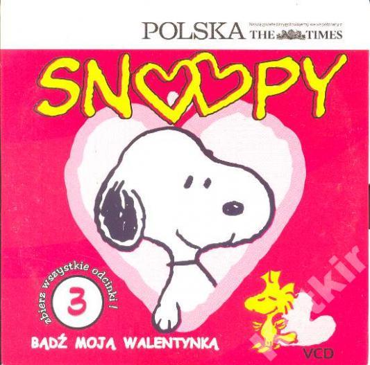 Snoopy: Bądż moją walentynką. (52 min). VCD.