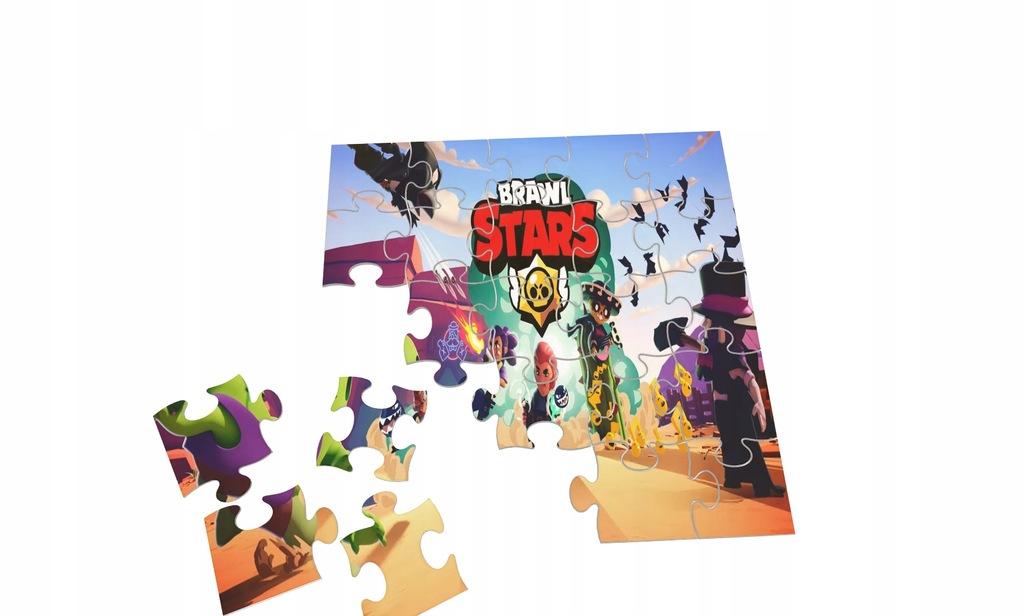 Brawl Stars Puzzle + Gratis