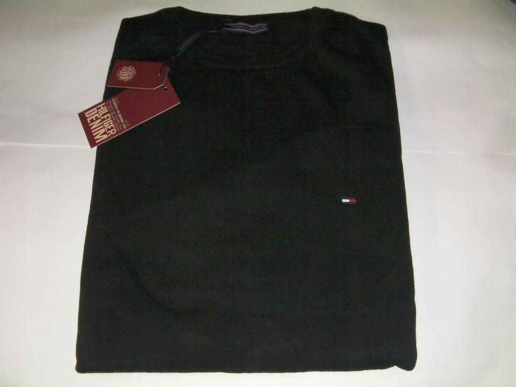 Tommy hilfiger sweter czarny