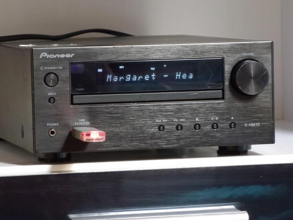 Amplituner Pioneer X-HM10 USB MP3 miniwieża stereo