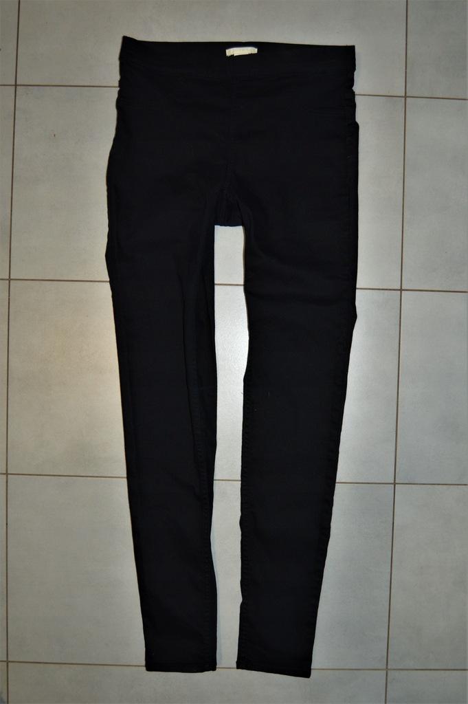 H&M Elastyczne Jegginsy _ Jeans _ 36 JAK NOWE