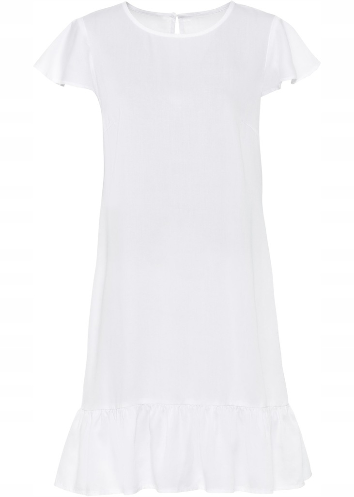 N70 BPC Sukienka shirtowa z falbaną r.54