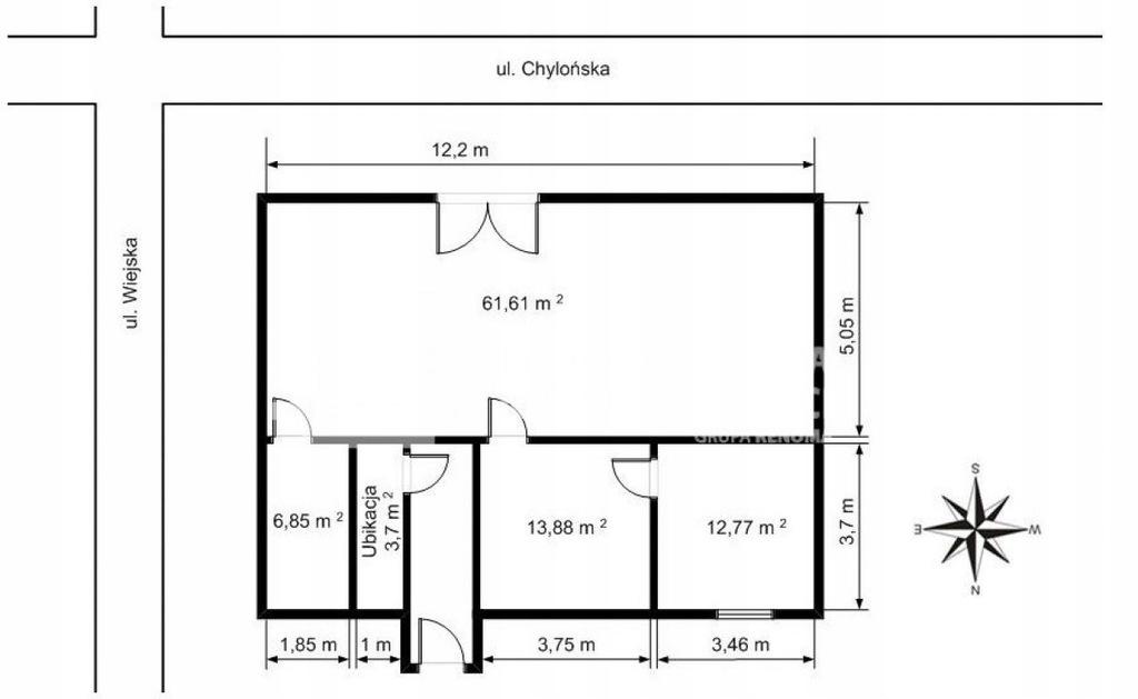 Komercyjne, Gdynia, Chylonia, 99 m²