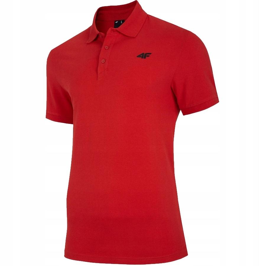 Koszulka 4F NOSH4-TSM008 62S czerwony XXXL!