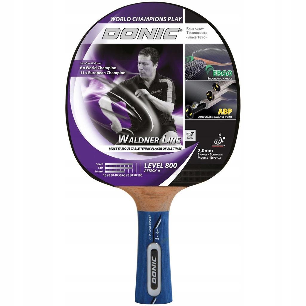 Rakietka do tenisa stołowego Donic Waldner 800