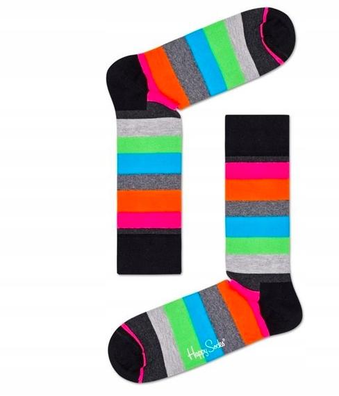 Happy Socks skarpetki czesana bawełna Happy-sklep