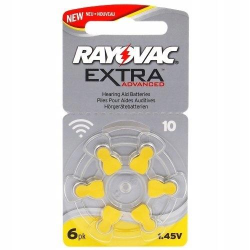 * Baterie do aparatów słuchowych Extra Advanced 10