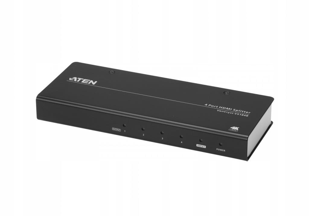 ATEN Rozdzielacz 4-portowy True 4K HDMI VS184B