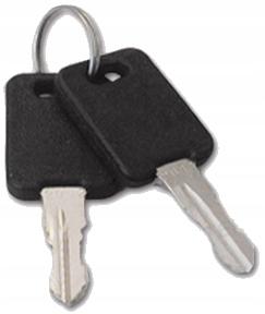 Klucze do zamka standard FAP nr 20 - 2 szt