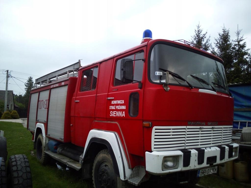 samochód pożarniczy magirus deutz 170