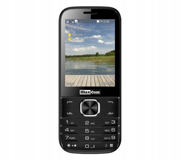 Telefon komórkowy Maxcom MM237 DLA SENIORA LATARKA