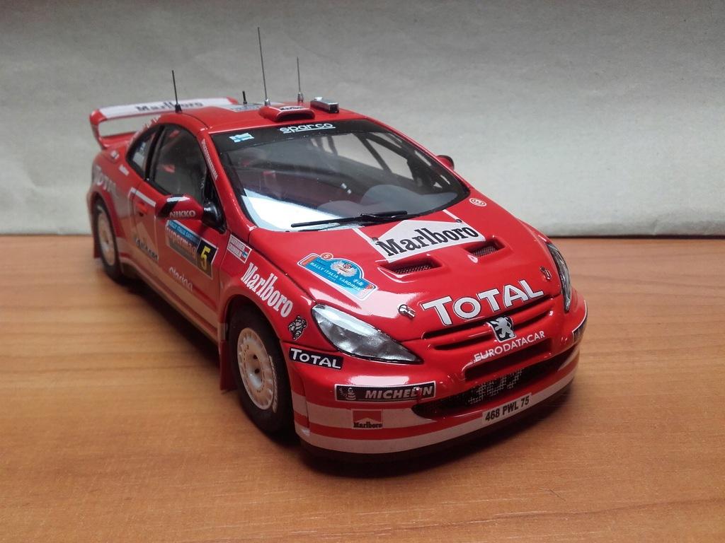 Peugeot 307 WRC Gronholm MARLBORO