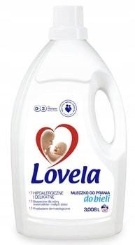 Lovela mleczko do prania ubranek niemowlęcych biel