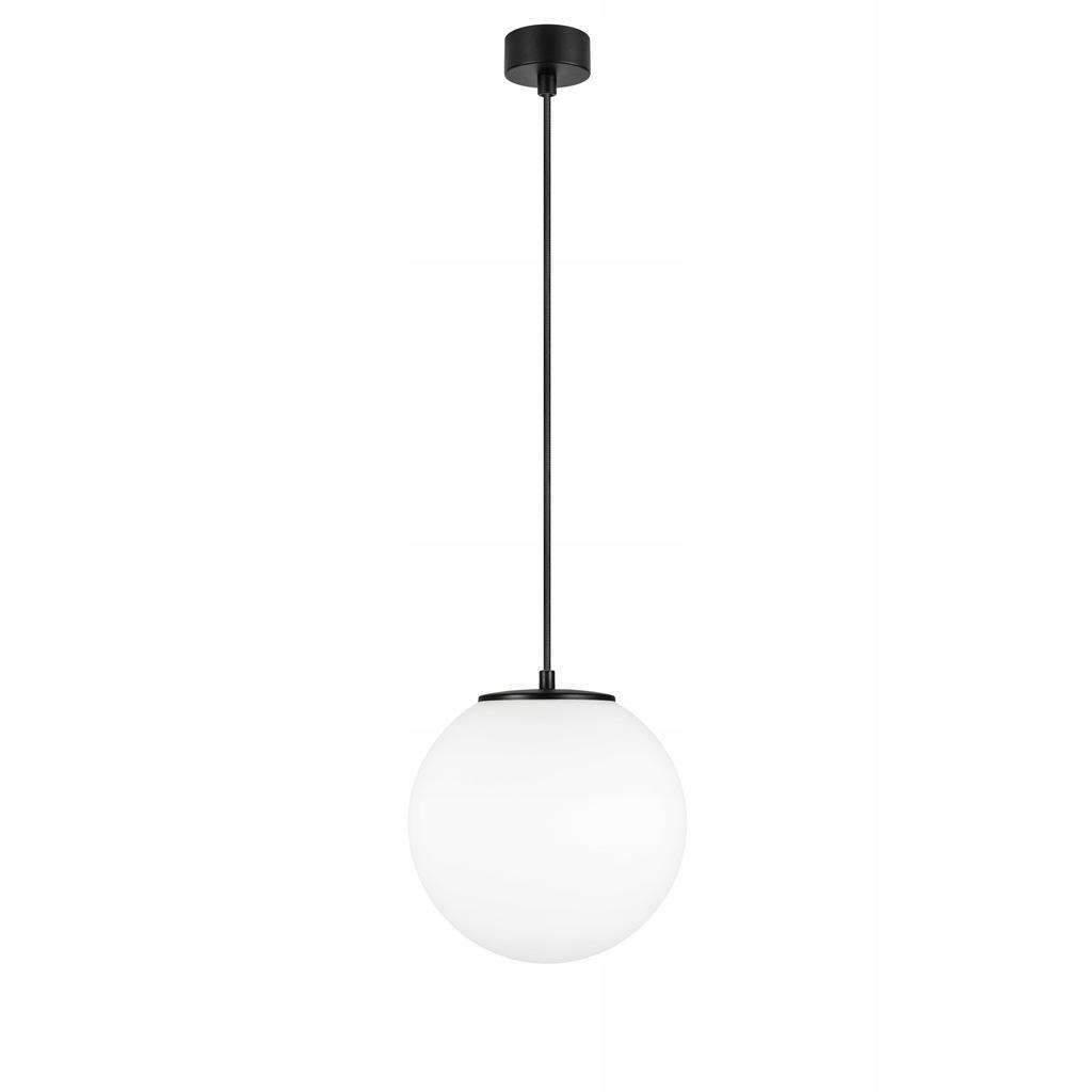 Lampa Wisząca Kula 25cm Szkło Biały MAT Tsuki M1_S