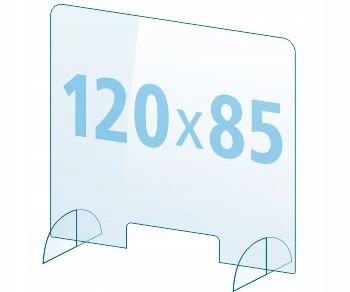 OSŁONA z pleksi ochronna PB szyba 4mm plexi 120x85