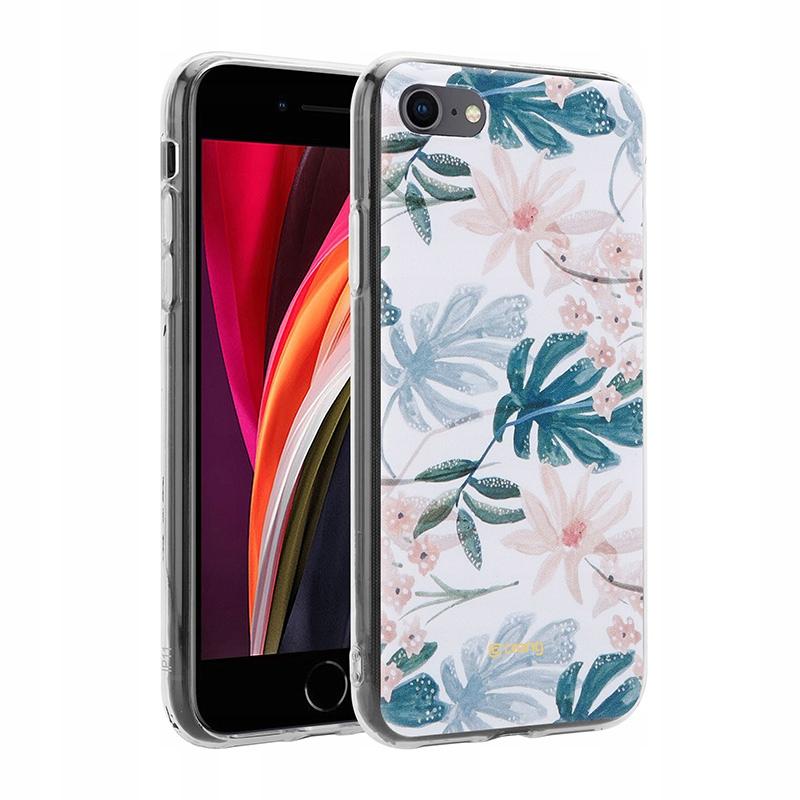 Crong Flower Case - Etui iPhone SE 2020 / 8 / 7 (w