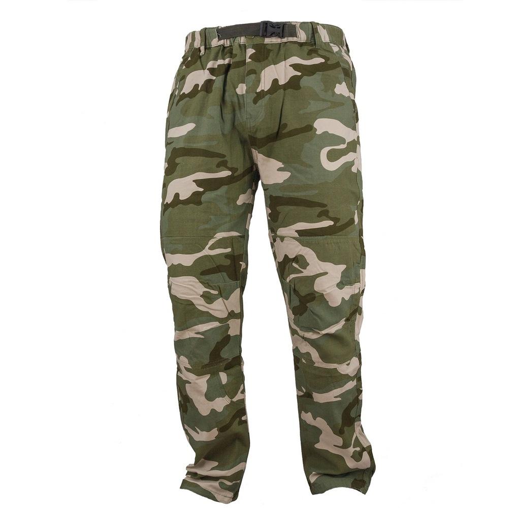 Spodnie MORO survival CAMO I bawełniane r. 60