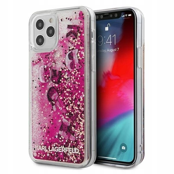 Karl Lagerfeld KLHCP12LROPI iPhone 12 Pro Max 6,7