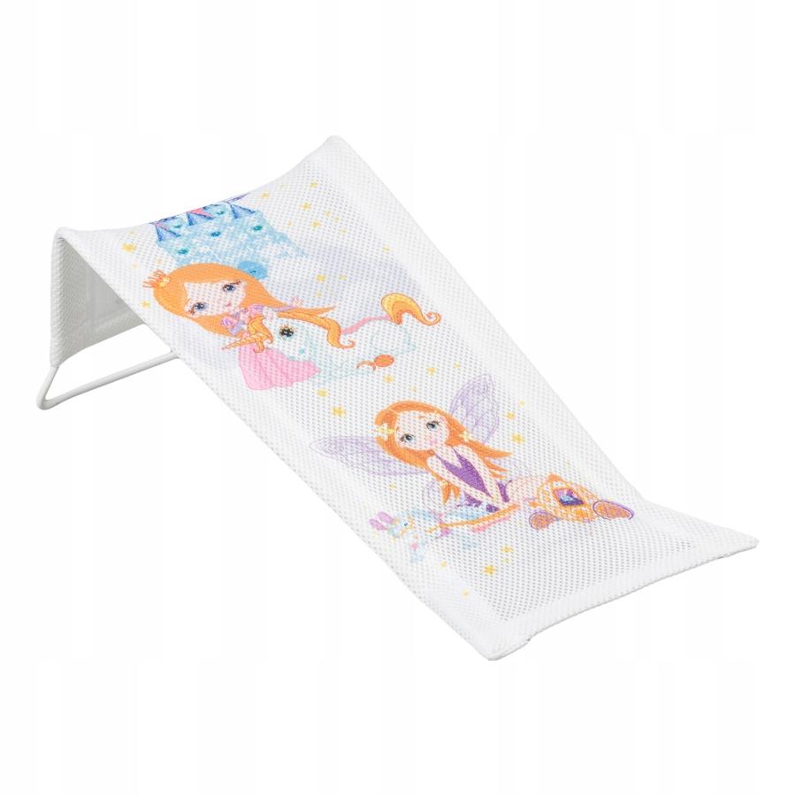 Leżaczek kąpielowy Księżniczka biały LP-026-103