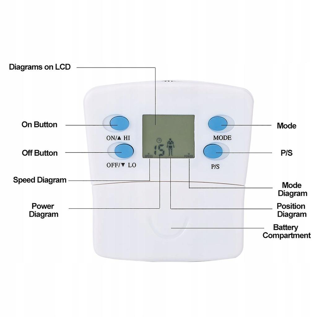elektroniczny pas mięśniowy masażer ciała