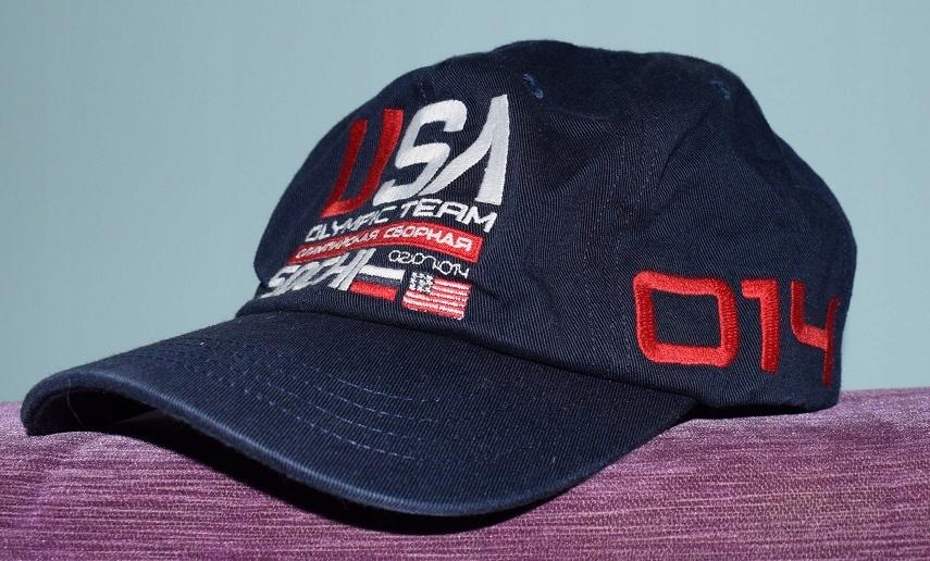 RALPH LAUREN SOCHI czapka z daszkiem z USA