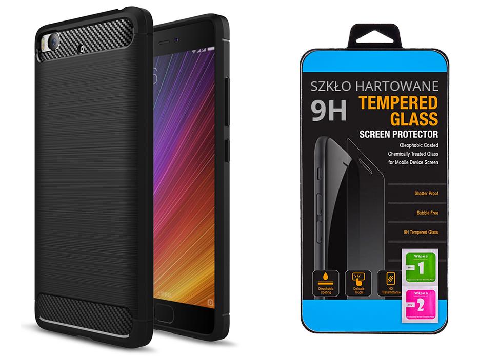 Xiaomi Mi5s Etui Karbon Case Szklo 9h Kolory 6873226591 Oficjalne Archiwum Allegro