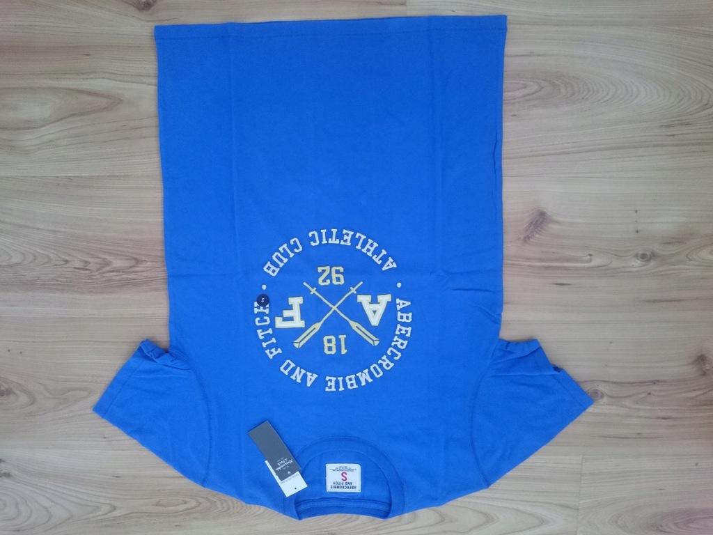 NOWA koszulka abercrombie&fitch S hollister bl
