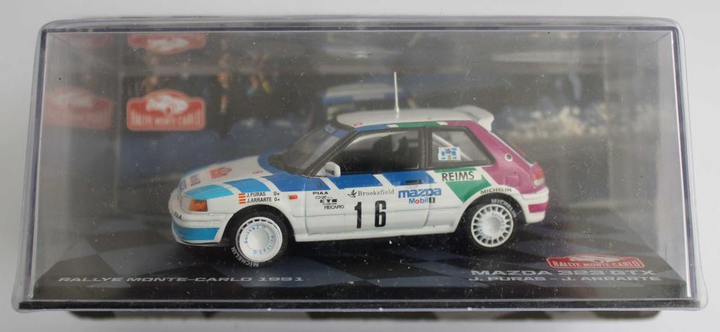 Mazda 323 GTX Rally Collection 1/43